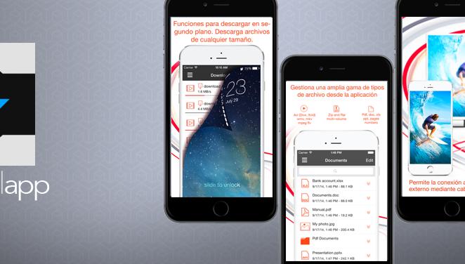 Amerigo, descarga archivos de Internet la App Destacada