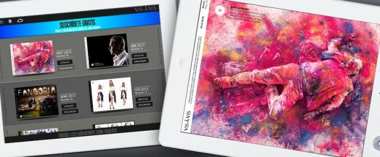 Vis-à-Vis: lectura imprescindible en tu Tablet