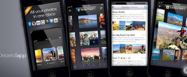 Cooliris, agrupa todas tus fotos sobre una misma App