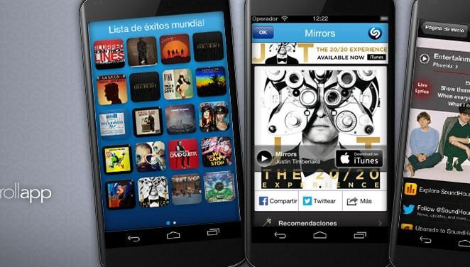 Aplicaciones gratuitas de música: Shazam VS SoundHound