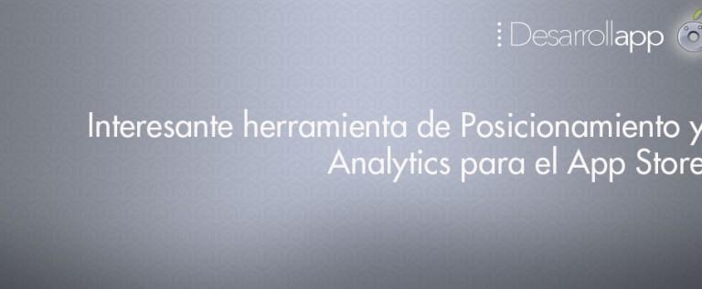 Interesante herramienta de Posicionamiento y Analytics para el App Store