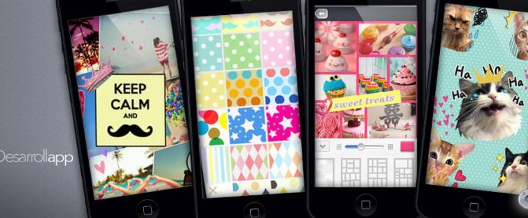 Apps gratis de fotografía: Pic collage