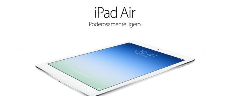 Todas las novedades del nuevo iPad Air