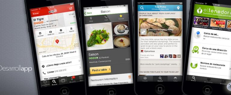 Las mejores apps para encontrar restaurantes