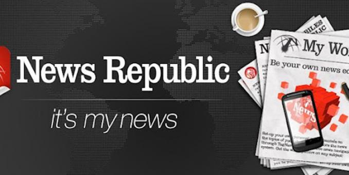 News Republic, tu periódico a la carta con Stelapps