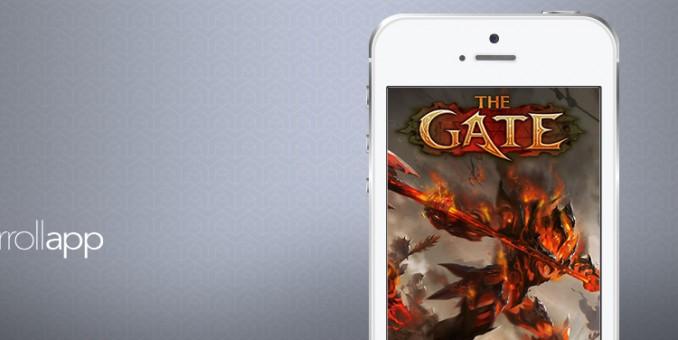 ¡Combate batallas en el infierno con la app The Gate!