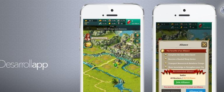 ¡Sumérgete en el mundo de los dragones,con la app Dragons of Atlantis!
