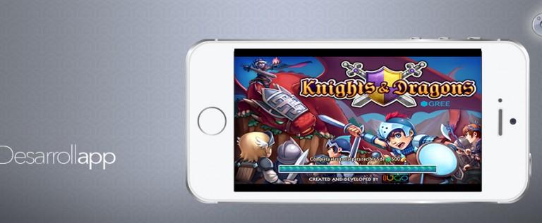 ¡LLega el emocionante juego de acción de la App Store, Knights & Dragons!