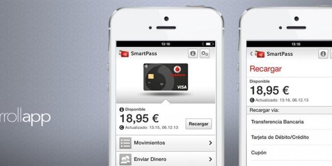 ¡Paga todo lo que quieras con tu móvil a través de Vodafone SmartPass!