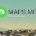 MAPS.ME, lo último en mapas