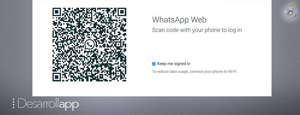 WhatsApp para web…Por fin
