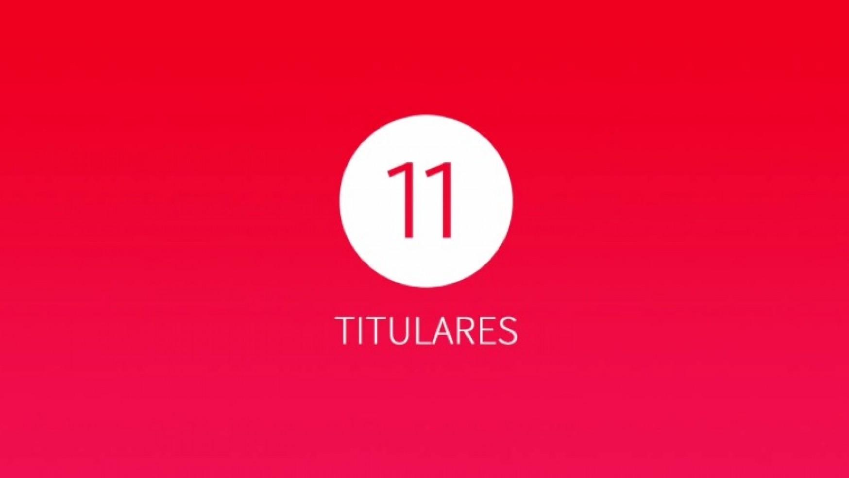 11 Titulares