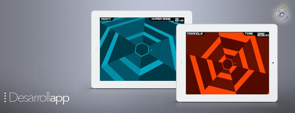 Super Hexagon: el juego más adictivo del mundo