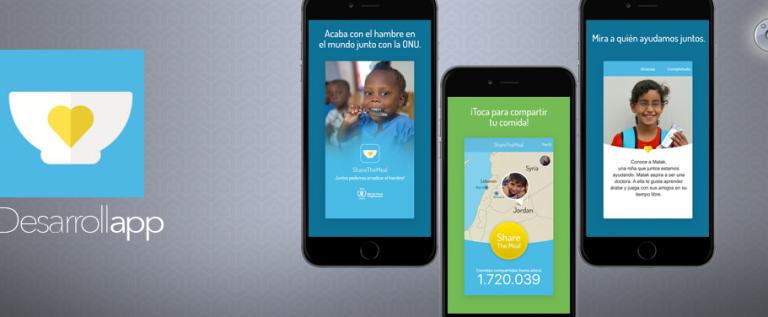 ShareTheMeal: Ayudar cuesta muy poco