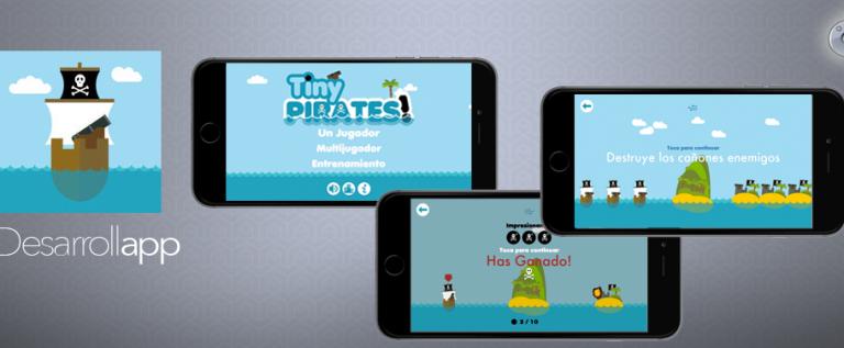 Tiny Pirates! diversión y sencillez unido en un juego genial