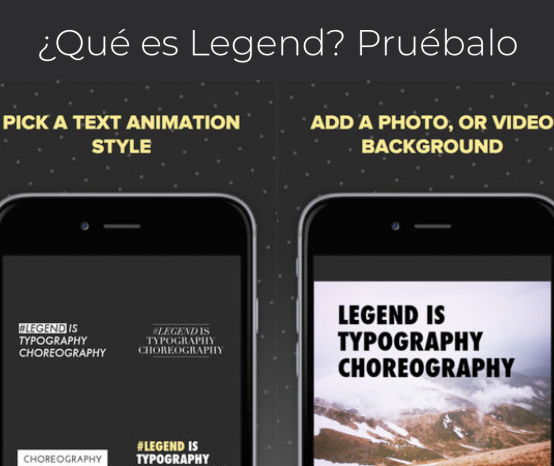 Legend: Animated Text in Video. Una App simple ¡y buena!